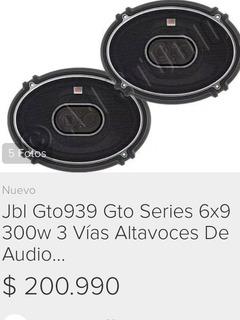 Jbl Gto939 6x9 De 300 Watts