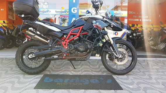 Bmw F800 Gs 2016 Branca Toda Revisada Na Bmw
