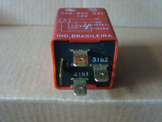 Relé Original Temporizador Do Limpador Dianteiro 542955531