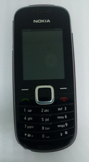 Nokia 1661-2 Preto Semi Novo C/ Avaria S/ Garantia