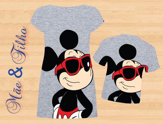 Vestido Adulto + Camisa Infantil - Mickey Style