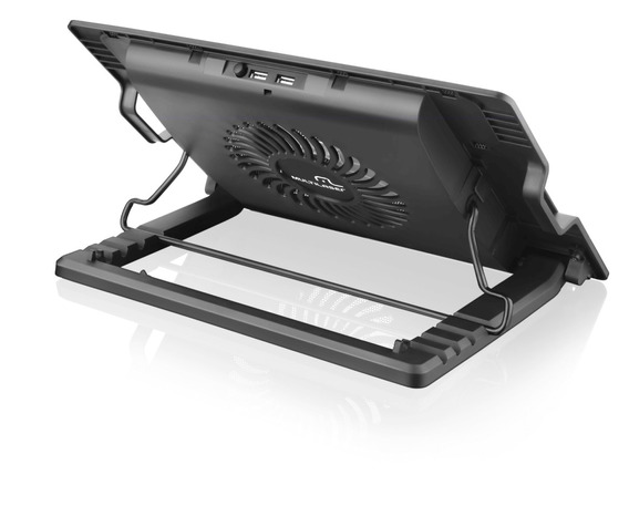 Suporte P/ Notebook Notepal Vertical Com Cooler Multilaser