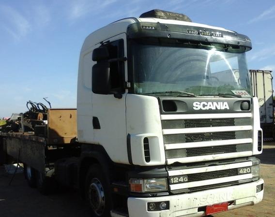 Scania R 124 360 - 2003 - 6x2 - Manual - Primeiro Caminhão