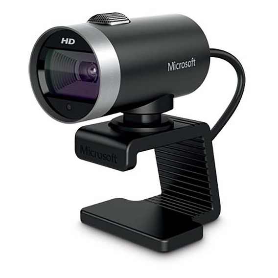 Webcam Cinema Usb Preta Microsoft - H5d00013