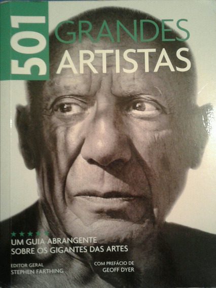 Livro 501 Grandes Artistas Editora Sextante