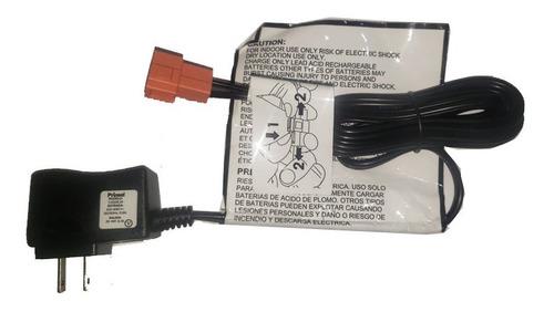 Imagen 1 de 4 de Cargador De Bateria Para Carritos Electricos Prinsel 6v