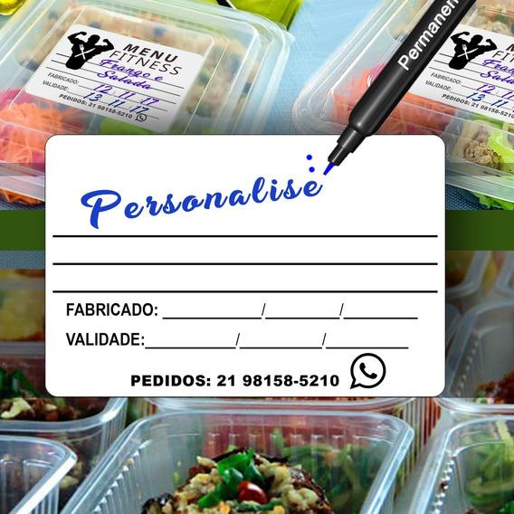 Etiqueta Personalizada Alimentos Congelados Fabricação 1000