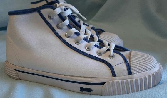 Zapatillas Flecha Nro41 Botitas Blancas