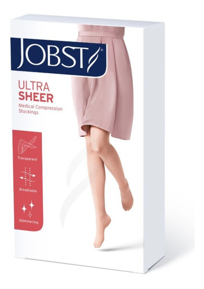 Media De Compresión Jobst Ultrasheer 8-15 Mmhg Pantimedia