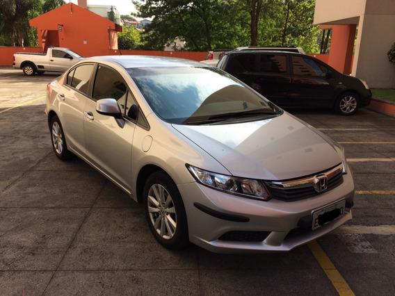 Honda Civic 1.8 Lxs 16v Flex 4p Automático - Ano 2013