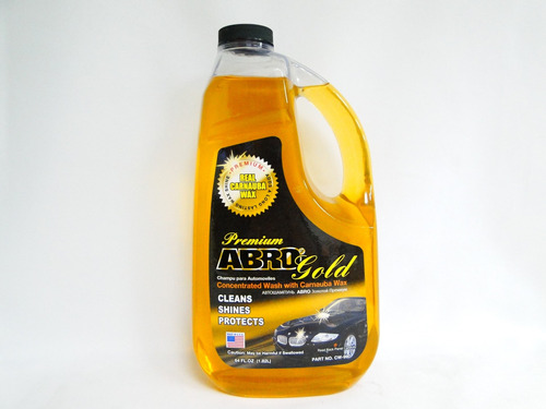 Shampoo Para Automoviles Con Cera Carnauba 1.8 Litros