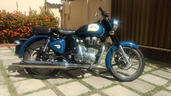 Moto Royal Enfield Bullet Classic 500 Custom Troco Dr 800
