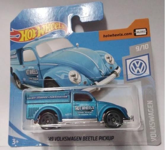 Miniatura Hot Wheels 49 Volkswagen Beetle Pickup - Azul !!!