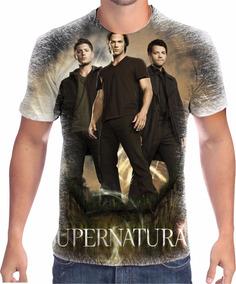 Camisa Camiseta Supernatural Série