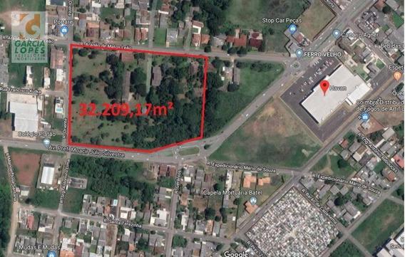 Área Residencial E Comercial À Venda, 30.917,58 M² Em Guarapuava. - Ar0001