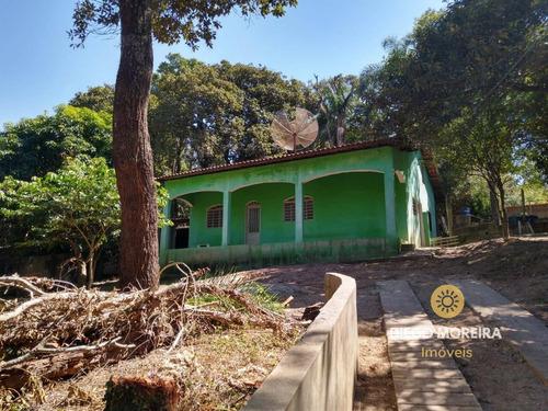 Chácara Á Venda Em Terra Preta Com 3 Dormitórios - Ch106