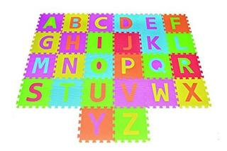 Alphabet Puzzle Abc Juego Mat 26 Tiles Eva Foam Juego Rainbo