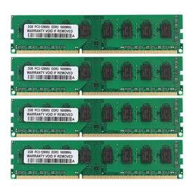 Memória Ram Micron Ddr3 8gb 4x2gb 1600mhz Para Amd