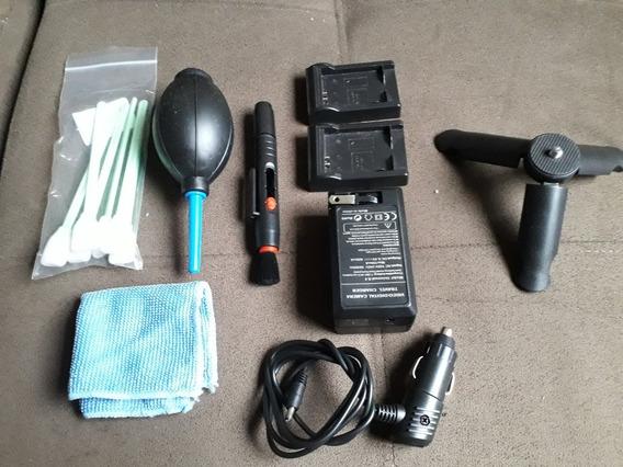 Kit Acessorios Camera Samsung Nx300 (carregador, Limpeza...)