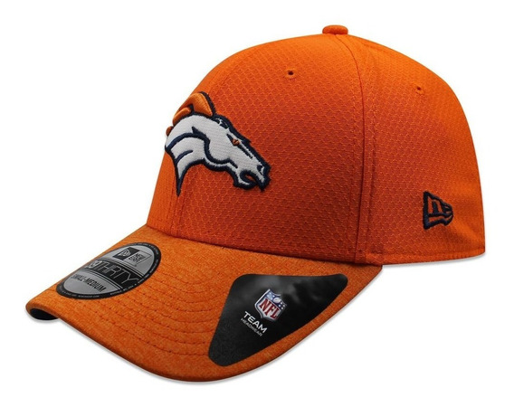 Gorra New Era 39 Thirty Nfl Broncos Popped Shadow Naranja