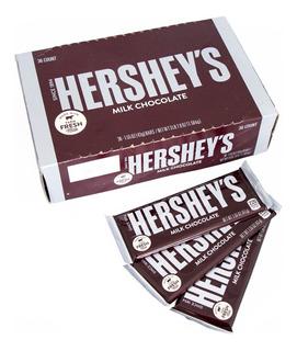 Chocolatina Hersheys Milk Chocolate 43gr X 36 Uds