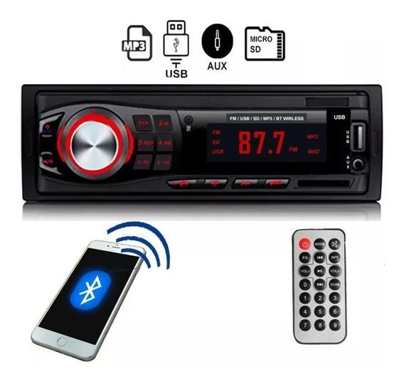 Autoestereo Bluetooth Stereo Mp3 Usb Fm 2019