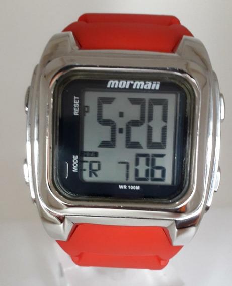 Relógio Mormaii Steel Surf Ys9072/1p- Original