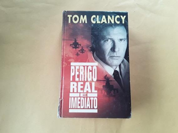 Livro Tom Clancy - Perigo Real E Imediato - Círculo Do Livro
