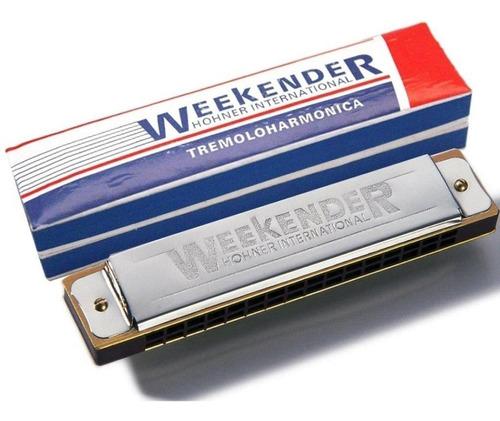 Hohner Armonica 32 Voces Tremolo Weekender 32 Estuche Envio