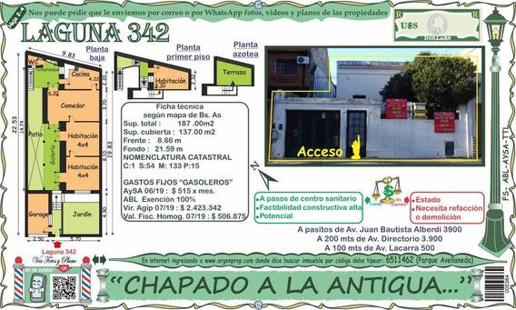 Chapado A La Antigua Casa Tipo Chorizo 100% Recuperable