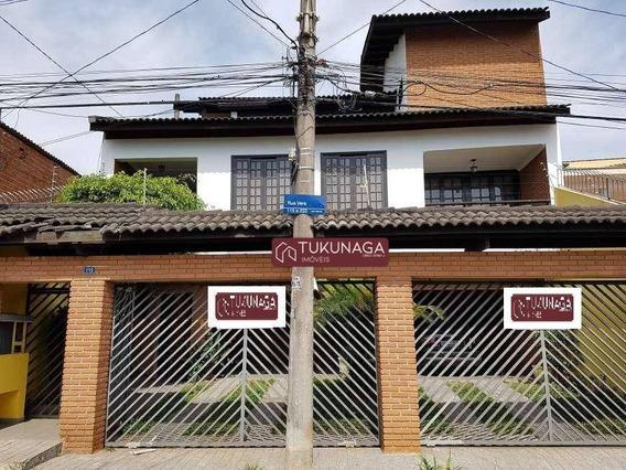 Sobrado Com 3 Dormitórios Para Alugar, 260 M² Por R$ 4.000/mês - Jardim Santa Mena - Guarulhos/sp - So0661