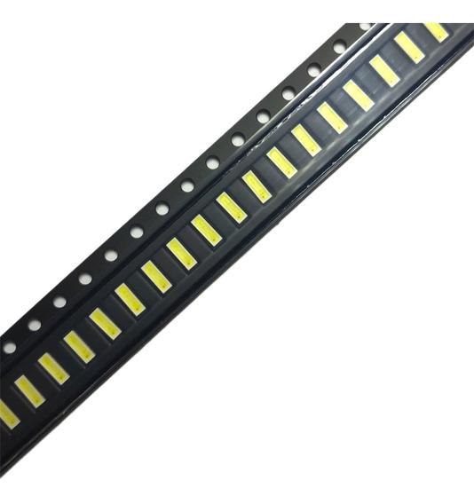 50 Unidades Led Smd 4014 3v Anodo Fino Tv Backlight 4x1,4mm