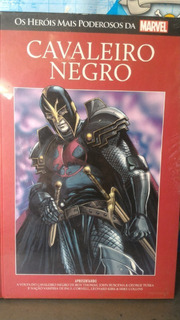 Hq - Marvel - Graphic Novels - Cavaleiro Negro.