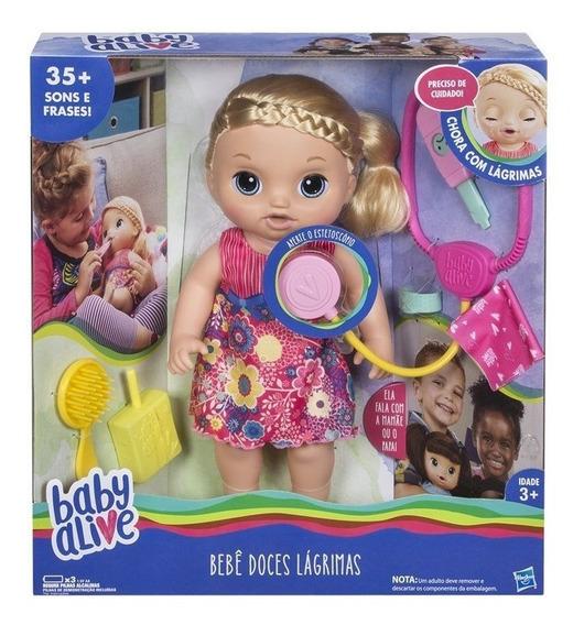 Boneca Baby Alive Doces Lágrimas Loira - Hasbro C0957