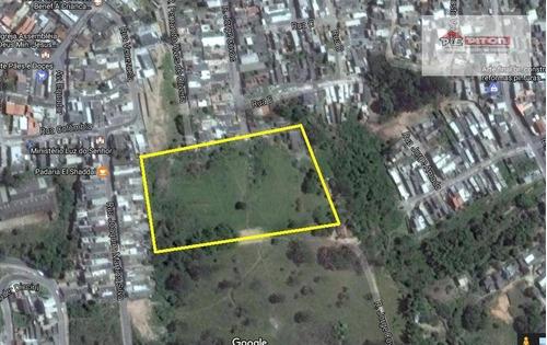 Terreno À Venda, 12698 M² Por R$ 2.300.000,00 - Jardim Maria Cecília - Ferraz De Vasconcelos/sp - Te0160