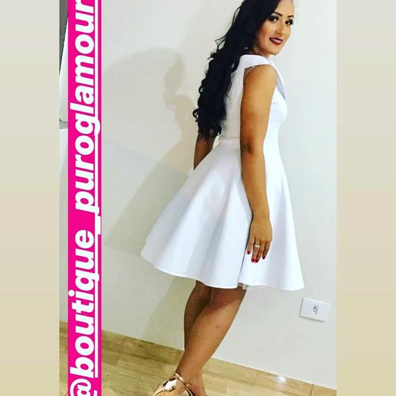 Vestido Princesa Boneca Moda Evangélica Não É Curto Ref. 01