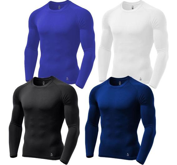 Camisa Under Jersey Rash Guard Futebol Stigli Pro Kit C/ 4