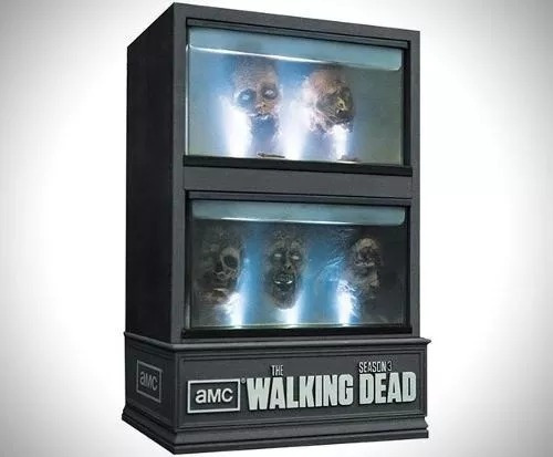 The Walking Dead 3ª Temporada Gift Set Bluray Aquário