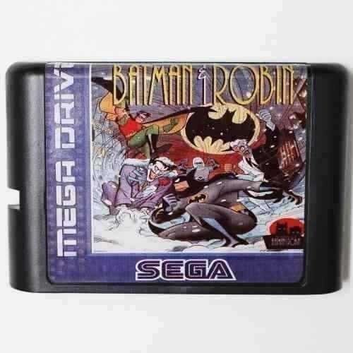 The Adventures Of Batman Robin Português Mega Drive Genesis