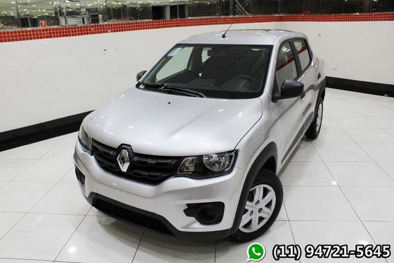 Renault Kwid 1.0 Zen 2020 Prata Financiamento Próprio 0608