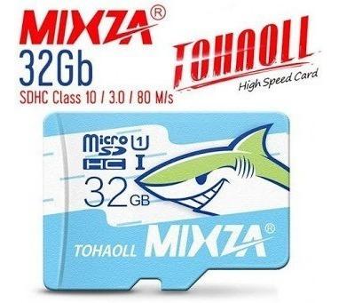 Cartão De Memoria 32 Gigas Micro Sd Mixza Classe10