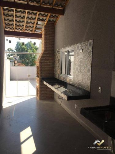 Cobertura À Venda, 100 M² Por R$ 405.000,00 - Vila Camilópolis - Santo André/sp - Co0785