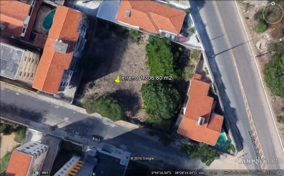 Terreno À Venda, 1306 M² Por R$ 3.920.400 - Papicu - Fortaleza/ce - Te0115