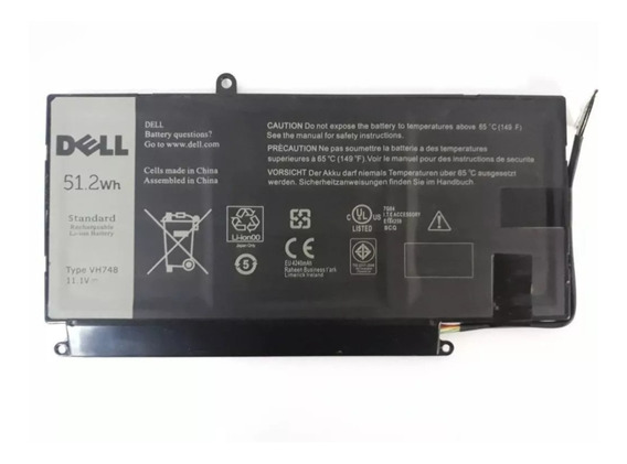 Bateria Notebook Dell Vostro 5460 5470 5480 5560 Type Vh748