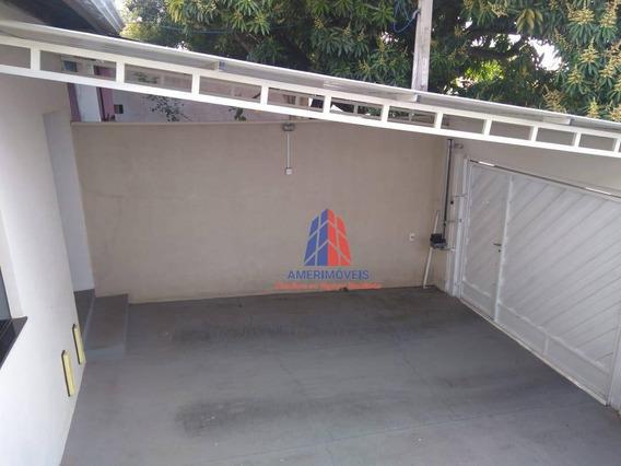 Casa Com 1 Dormitório À Venda, 80 M² Por R$ 250.000 - Jardim Guanabara - Americana/sp - Ca1108