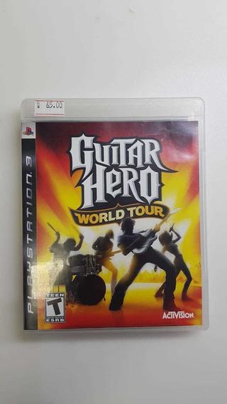 Jogo Ps3 - Guitar Hero World Tour - Usado