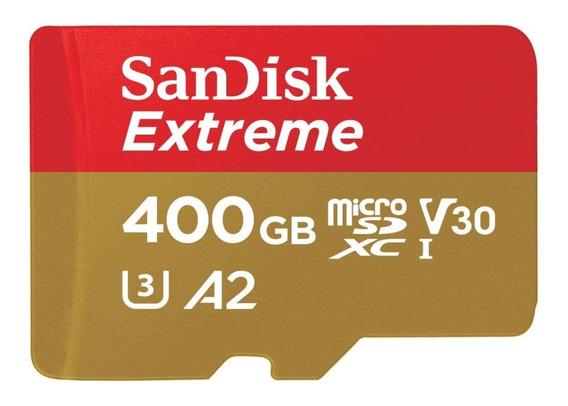 Cartão Micro Sd Sandisk Extreme 400gb A2 Gopro Hero 7