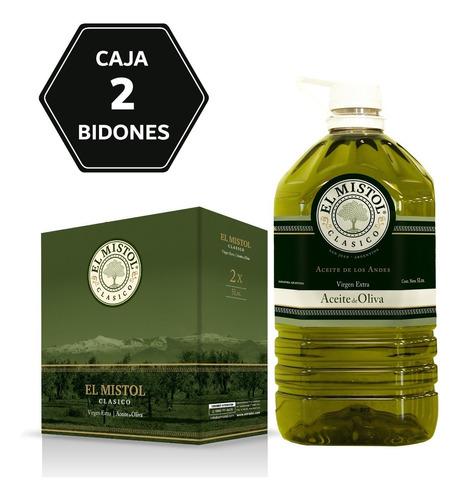 Aceite De Oliva El Mistol Clásico X 5l (caja 2 Bidones)
