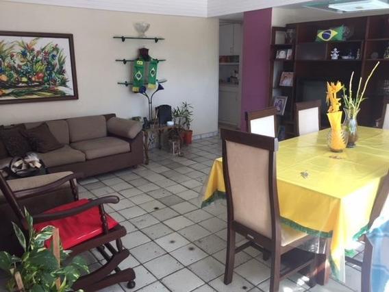 Apartamento Em Espinheiro, Recife/pe De 131m² 4 Quartos À Venda Por R$ 400.000,00 - Ap140816
