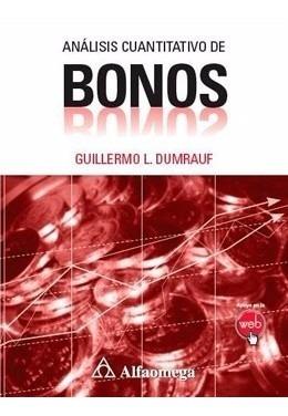 Libro Análisis Cuantitativo De Bonos Dumrauf Alfaomega